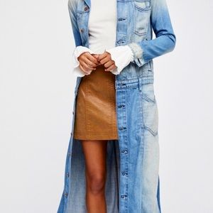 H&M dress/jean coat